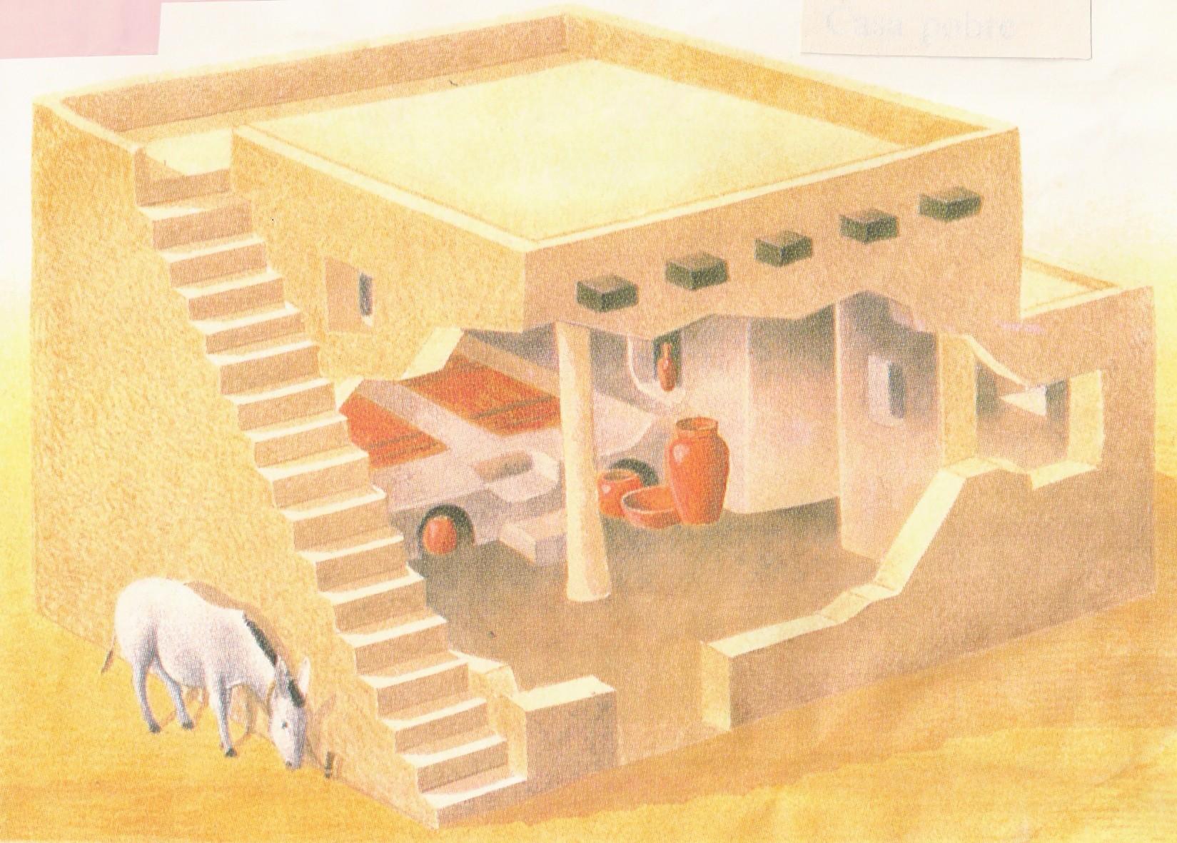 Casa palabras con miel Como eran las casas griegas