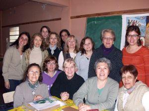 El grupo de la tarde con la profesora María Silvia. ¡Gracias María Silvia por tu calidez y entrega!